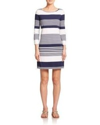 Marlowe striped shift dress medium 297012