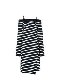 Off the shoulder jersey wrap dress medium 7694866