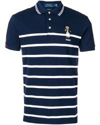 Polo Ralph Lauren Polo Bear Striped Polo Shirt