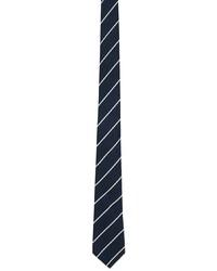 Paul Smith Navy Striped Tie