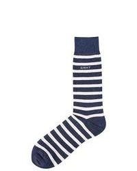 Gant Melange Striped Socks Putty