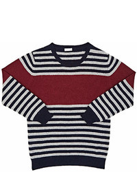 Il Gufo Striped Wool Sweater