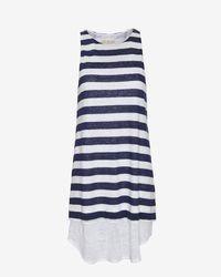 A.L.C. Striped Linen Tank Dress