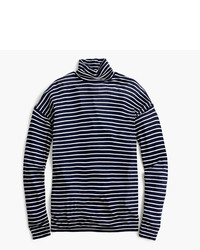J.Crew 10 Percent Deck Turtleneck In Stripe