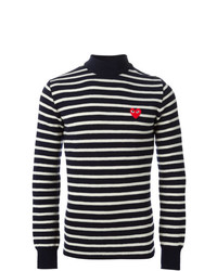 Comme Des Garcons Play Comme Des Garons Play Striped Sweater
