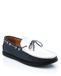 Franco vanucci contrast boat loafer medium 274873