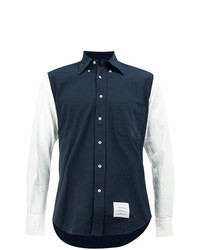 Thom Browne Contrasting Button Down Shirt