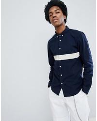 Lee Slim Fit Chest Stripe Shirt