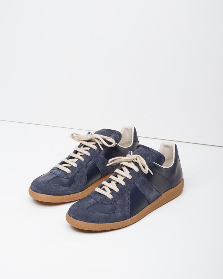 Fake Polo Shoes Navy Blue White
