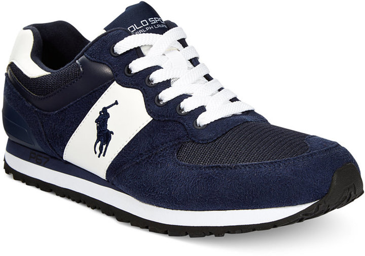... Polo Ralph Lauren Slaton Pony Sneakers Shoes