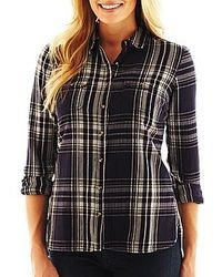 jcpenney St Johns Bay Plaid Shirt