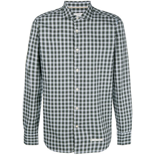 outlet store cd2dd 0f13a $107, Tintoria Mattei Checked Shirt