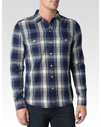 Paige Hunter Shirt Curtis Plaid
