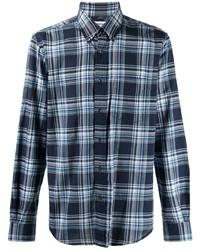 Aspesi Plat Check Cotton Shirt