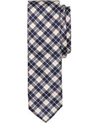 Brooks brothers plaid tie medium 322101