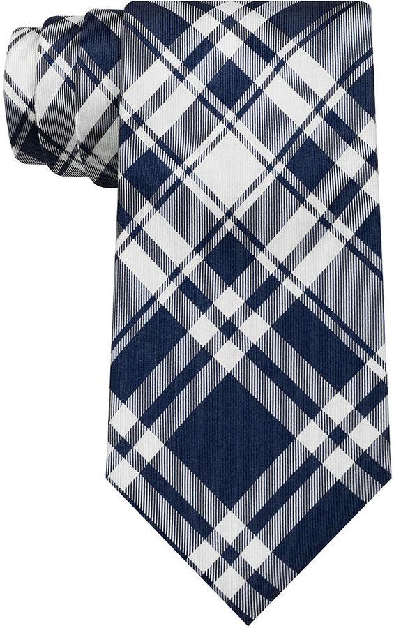 5f656632110b Tommy Hilfiger Nantucket Tartan Tie, $65 | Macy's | Lookastic.com