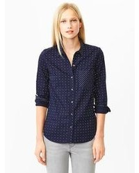 Gap Polka Dot Oxford Shirt