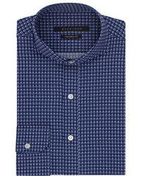Sean John Tailored Fit Circle Print Dress Shirt
