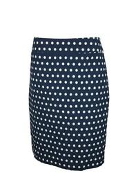 Charter Club Polka Dot Straight Skirt