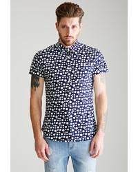 21men 21 Dalmatian Dotted Shirt