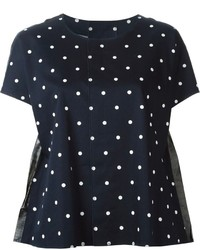 Comme des garcons comme des garcons comme des garons comme des garons polka dot t shirt medium 195370
