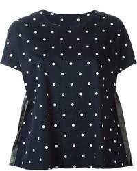 Comme des garons comme des garons polka dot t shirt medium 195370