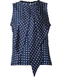 Martin grant polka dot blouse medium 195367