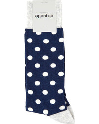 Etiquette Polka Dot Socks