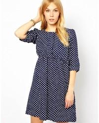 Yumi Polka Dot Dress
