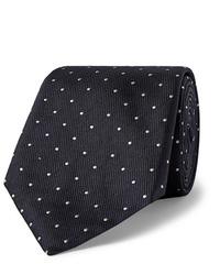 Hugo Boss 8cm Pin Dot Silk Faille Tie