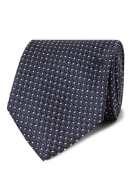 Tom Ford 8cm Pin Dot Silk Jacquard Tie