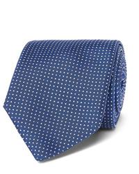 Hugo Boss 8cm Pin Dot Silk Tie