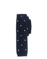 Knit tie in large dot medium 25660