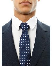 Paul Smith Shoes Accessories Polka Dot Silk Tie