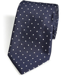 Silk polka dot tie medium 22786