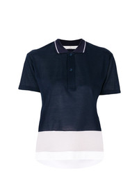 Golden Goose Deluxe Brand Cropped Polo Shirt