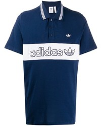 adidas Panelled Logo Polo Shirt