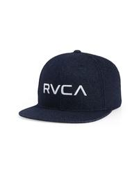 RVCA Twill Snapback Baseball Cap