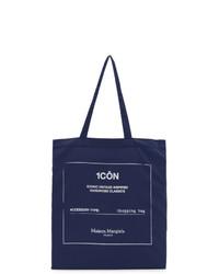 Maison Margiela Indigo Icon Shopping Tote