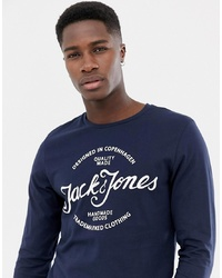 Jack & Jones Jack And Jones Print Long Sleeve T Shirt