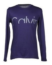 Calvin Klein Collection Long Sleeve T Shirts