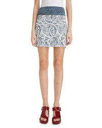 Chloé Textured Jacquard Miniskirt