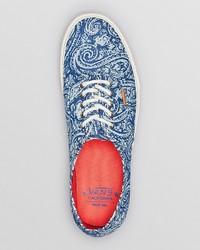 f887a31d5659dd ... Vans Authentic Ca Paisley Print Sneakers