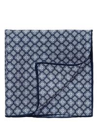 Thomas pink nicholson print pocket square medium 305920