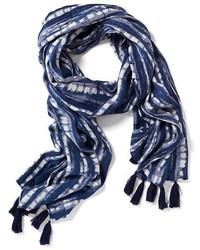 Old Navy Jacquard Patterned Tassel Scarf For