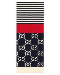 Gucci Stripe Cotton Scarf
