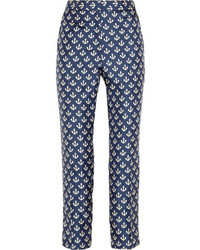 Gertrudi anchor print silk twill pants medium 92064