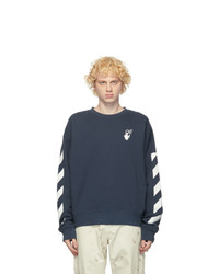 Off-White Blue Agreet Sweatshirt