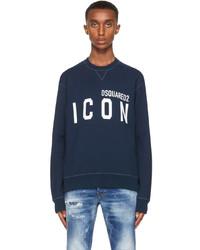 DSQUARED2 Navy Icon Sweatshirt