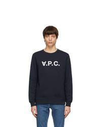 A.P.C. Navy Vpc Sweatshirt